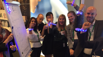 Xylobands at Philips Global Marketing Event